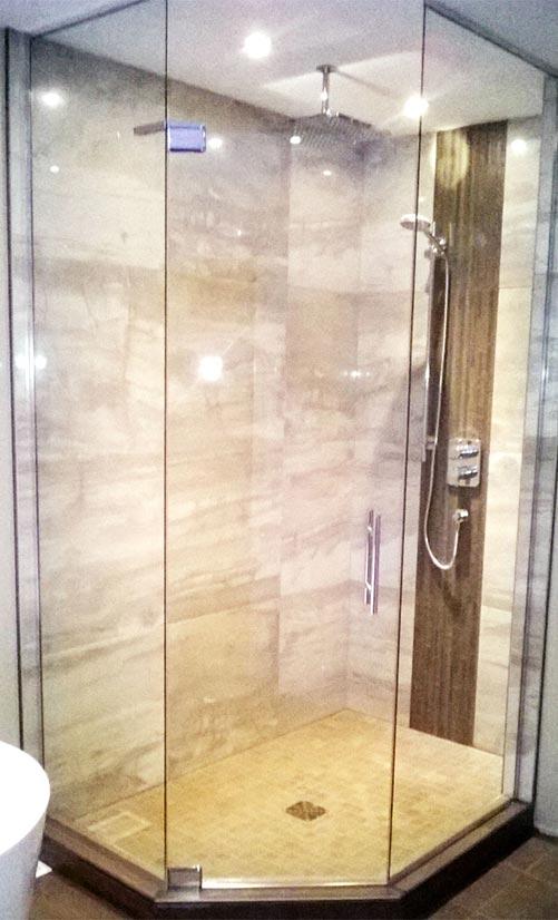 sp cialiste en douche en verre granby vitrerie claude. Black Bedroom Furniture Sets. Home Design Ideas